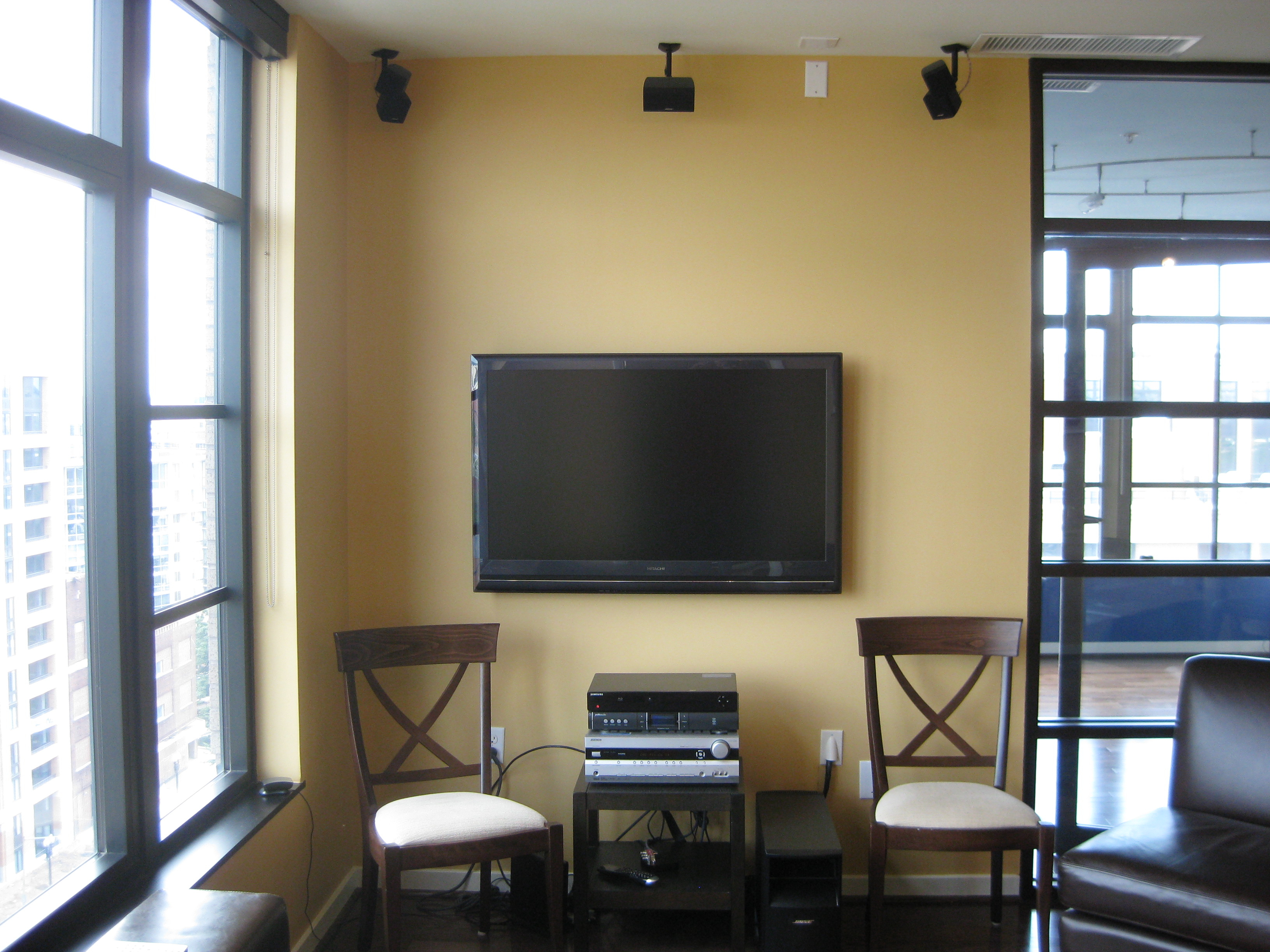 The Hdtv Goes With Apartment